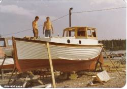 Our boat Ariadne 5 in May 1978