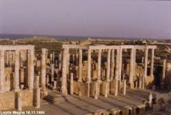 Leptis Magna 16.11.1984