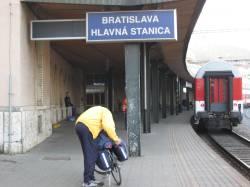 Bratislava Railway Station