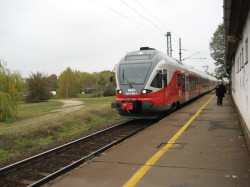 The train to Siofok
