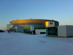 Hartwall Arena, a place I frequently visit