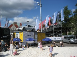 Beach Volley at Railway Square