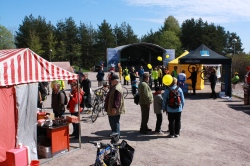 a Cycling Event in Kontula in Eastern Helsinki