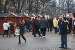 Christmas market at Esplanadi Park