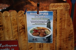 A Finnish meatball speciality