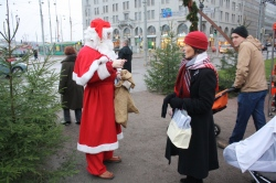 Santa Claus straight from Korvatunturi in Lapland