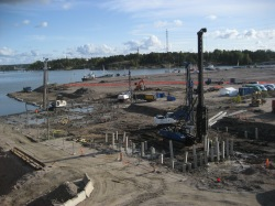 Offices and flats shall be build on the  grounds of the old harbour in Sompasaari
