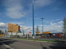 New harbour Gatehouse in Eastern Helsinki's  Vuosaari