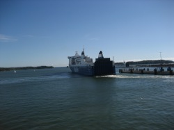Finnlady leaving the Harbour