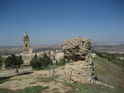 old ruins of Medina Sidonia